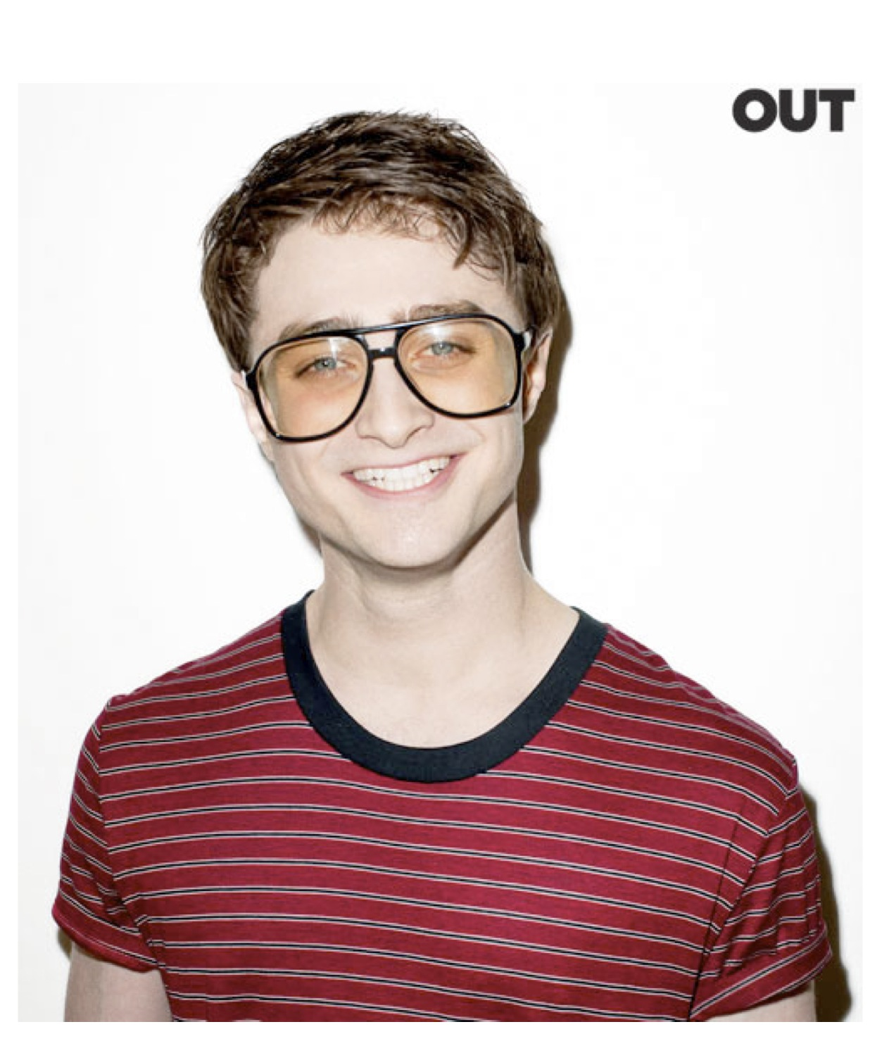 Daniel Radcliffe / Terry Richardson / Out / hair and makeup artist StacySkinner.com